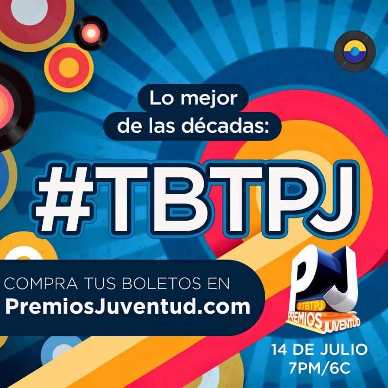 Premios Juventud celebra Jueves de Retro, este 14 de julio. (Facebook)