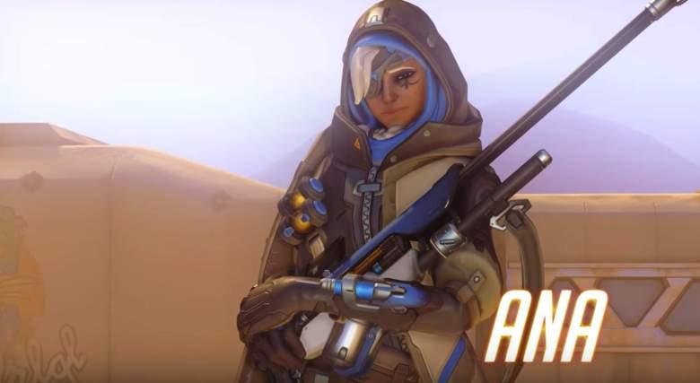 Ana es el nuevo personaje de 'Overwatch'.