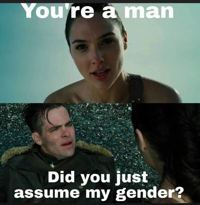 wonder woman meme