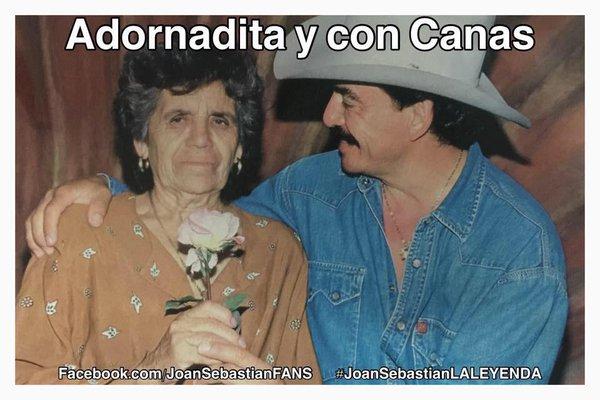 Doña Celia y su hijo Joan Sebastian (Twitter)