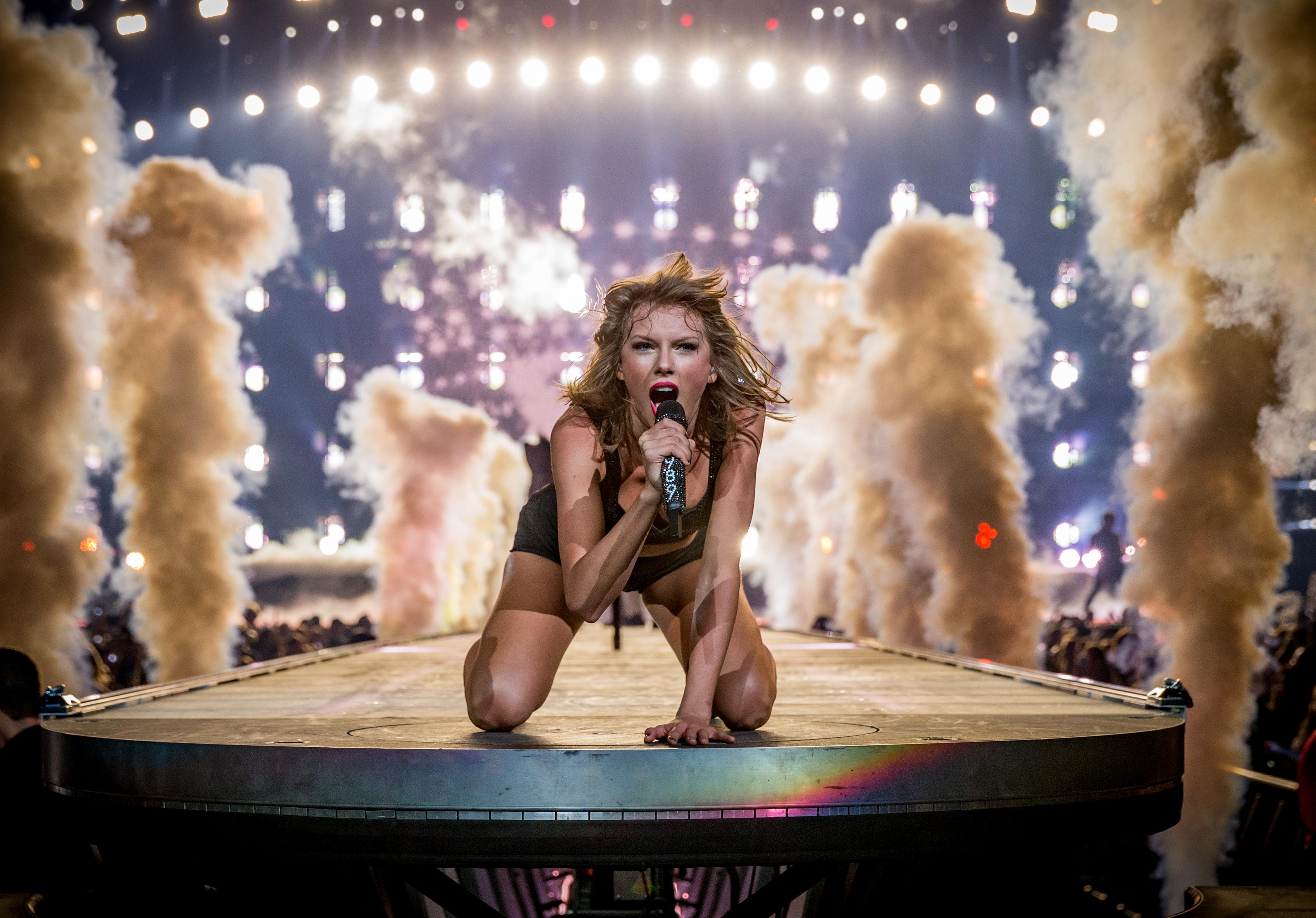 Taylor Swift fue la celebridad de más alto ingresos, según la revista Forbes. (Getty)