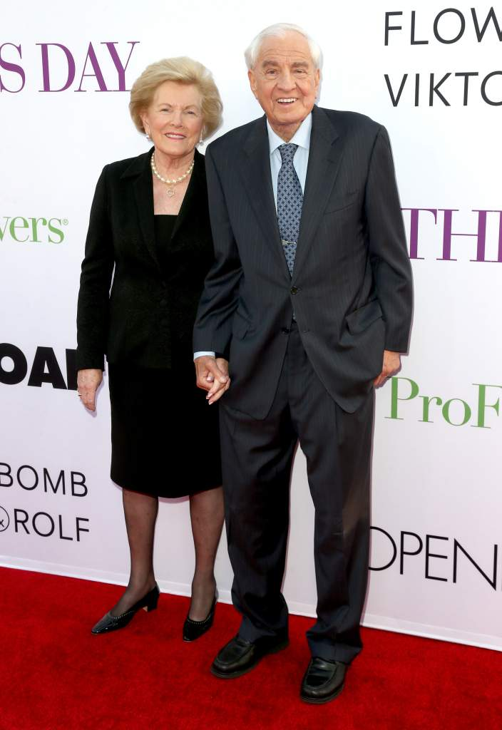 Garry Marshall y su esposa Barbara Marshall. (Getty)
