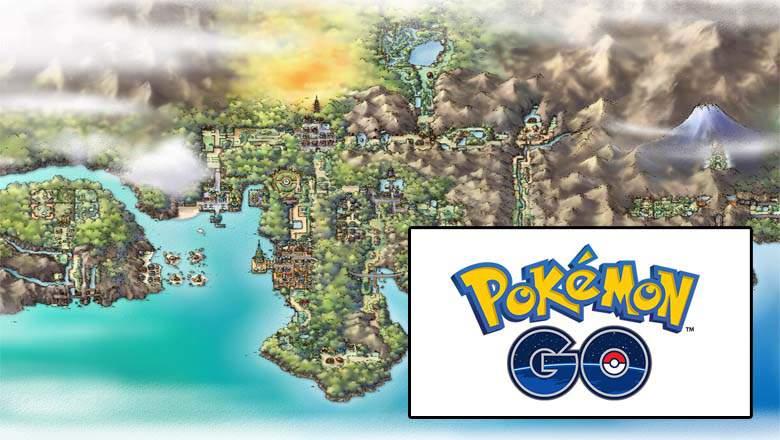pokemon go regions