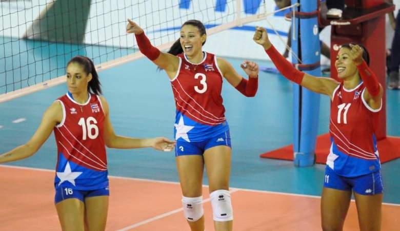 equipo de Puerto Rico de voleibol femenino