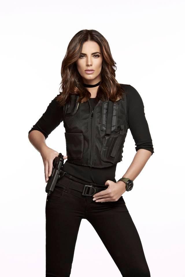 Gaby Espino transformada en Ines para 'Señora Acero 3, La Coyote'. (Facebook)