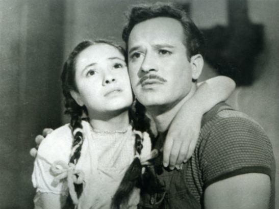 Chachita y Pedro Infante. (Twitter)