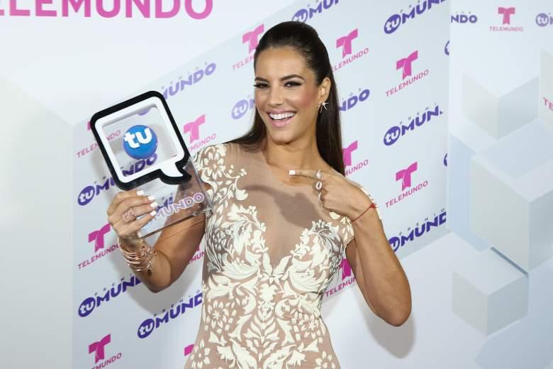 Gaby Espino en 'Premios Tu Mundo' 2015. (Getty)