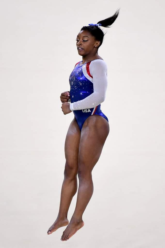 Simone Biles (Getty)