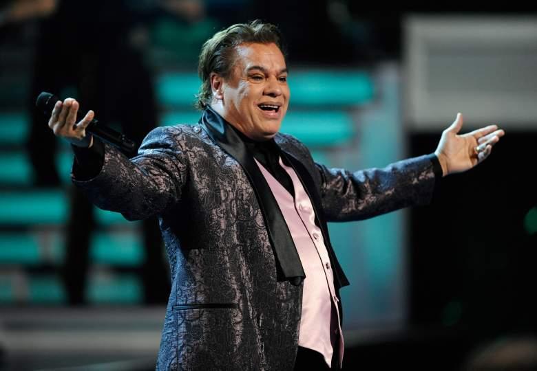 Juan Gabriel canta durante los Premios Grammy Latinos 2009. (Getty)
