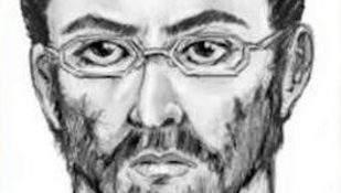 Este es el boceto del sospechoso que asesinato de imán y su asistente.