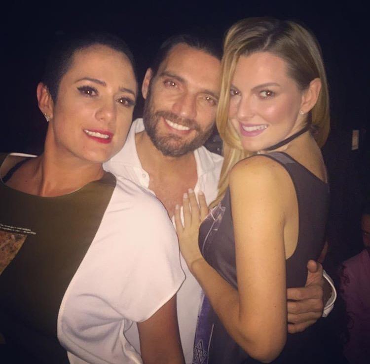 Julián Gil y Marjourie De Sousa celebrando el final de 'Sueño de Amor'. (Instagram)