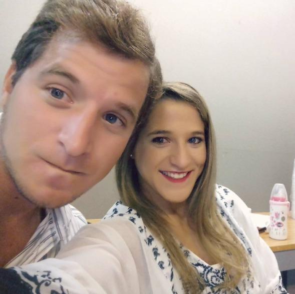 La Peque con su hermano Marco. (Instagram)