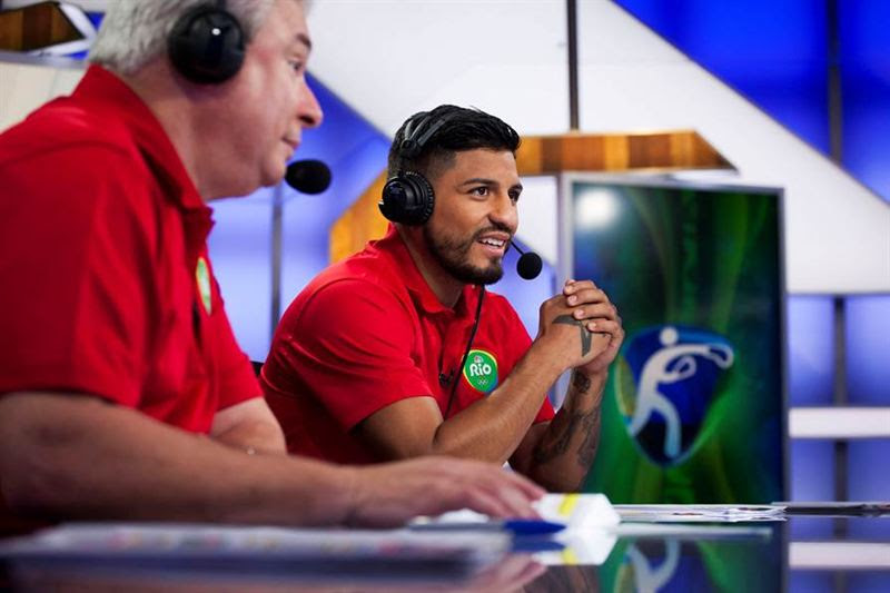 Abner Mares trae su experiencia dentro del ring de boxeo a la cobertura de boxeo olímpico en Telemundo. (Telemundo)