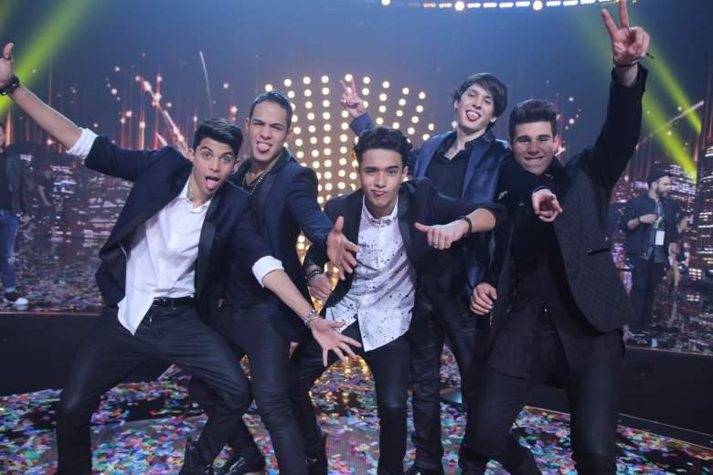 CNCO se convirtió en el gran ganador en 'Premios Juventud' 2016. (Facebook)