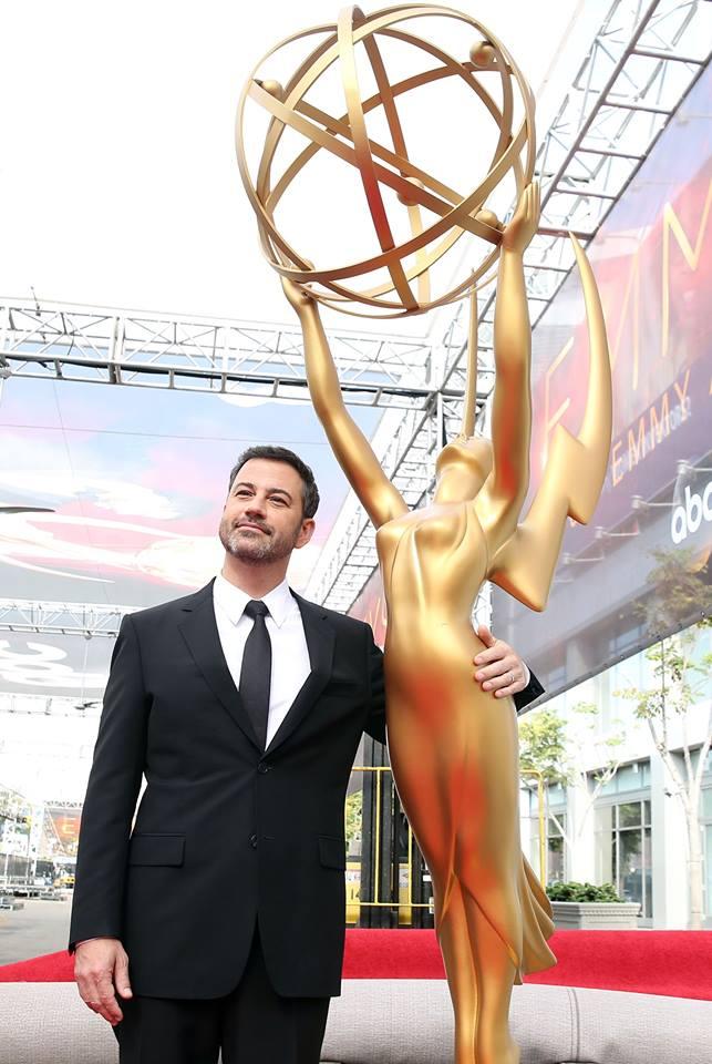 Jimmy Kimmel es el anfitrión de los premios Emmy 2016. (Getty Images)