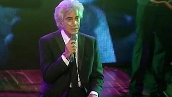 José Luis Rodríguez sufre de fibrosis pulmonar. (Foto tomada de video)