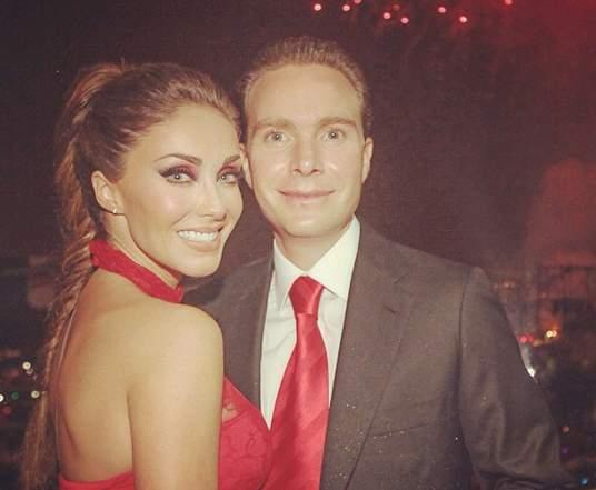 Anahí junto a su esposo Manuel Velasco. (Instagram)