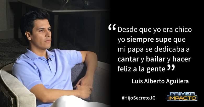 Luis Alberto Juan Gabriel, Luis Alberto Alberto Aguilar, Luis Alberto El Divo de Juarez