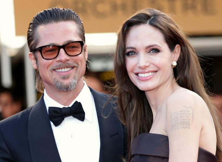 Angelina Jolie y Brad Pitt en Cannes. (Getty Images)