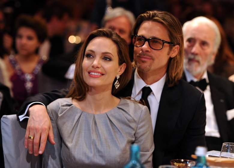 Angelina Jolie y Brad Pitt en Berlin, Alemania.  (Getty Images)