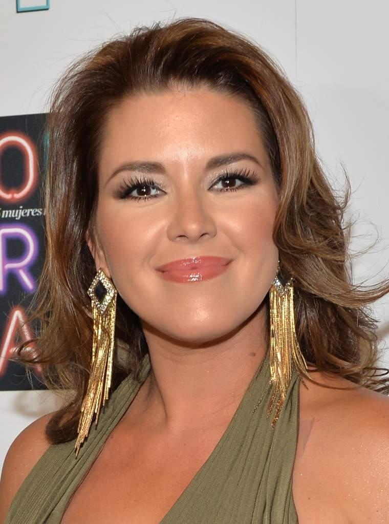 Alicia Machado en el evento de Las 25 Mujeres Más Poderosas de 'People en Español' en Coral Gables Country Club, 16 de octubre de 2014. (Getty Images)