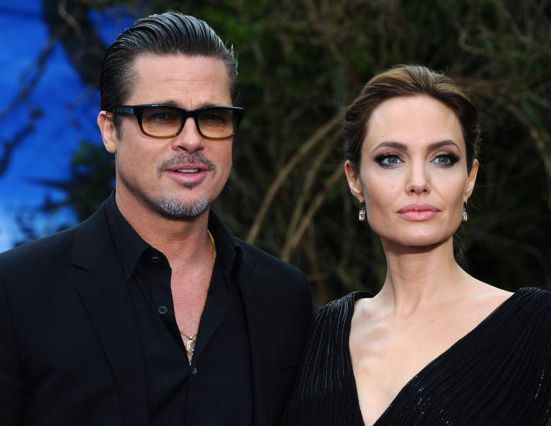 Brad Pitt y Angelina Jolie. (Getty Images)