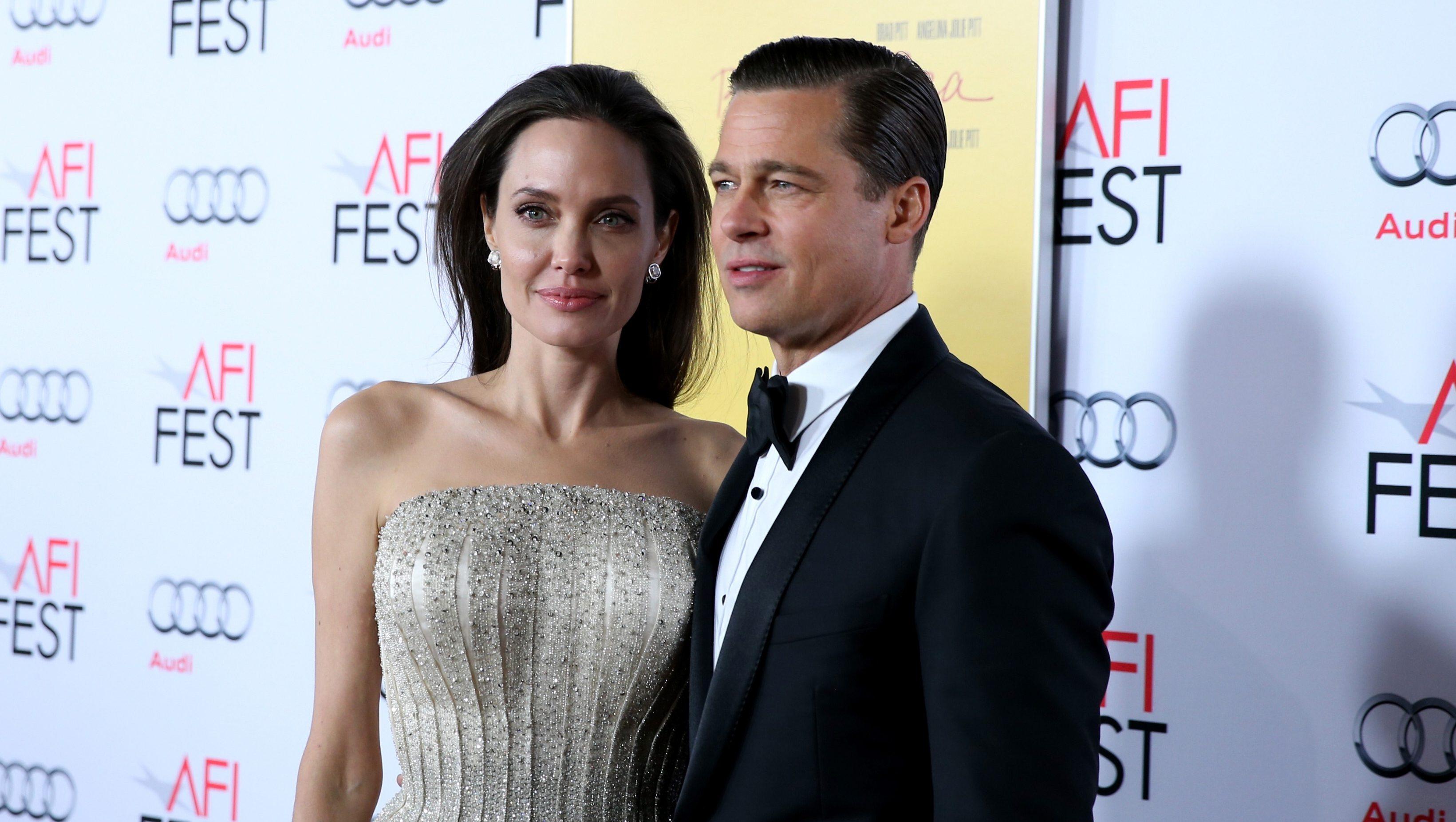 Angelina Jolie ha pedido el divorcio de su marido de dos años Brad Pitt. (Getty)
