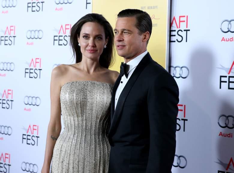 Angelina Jolie y Brad Pitt divorciando, Angelina Jolie y Brad Pitt acuerdo prenupcial
