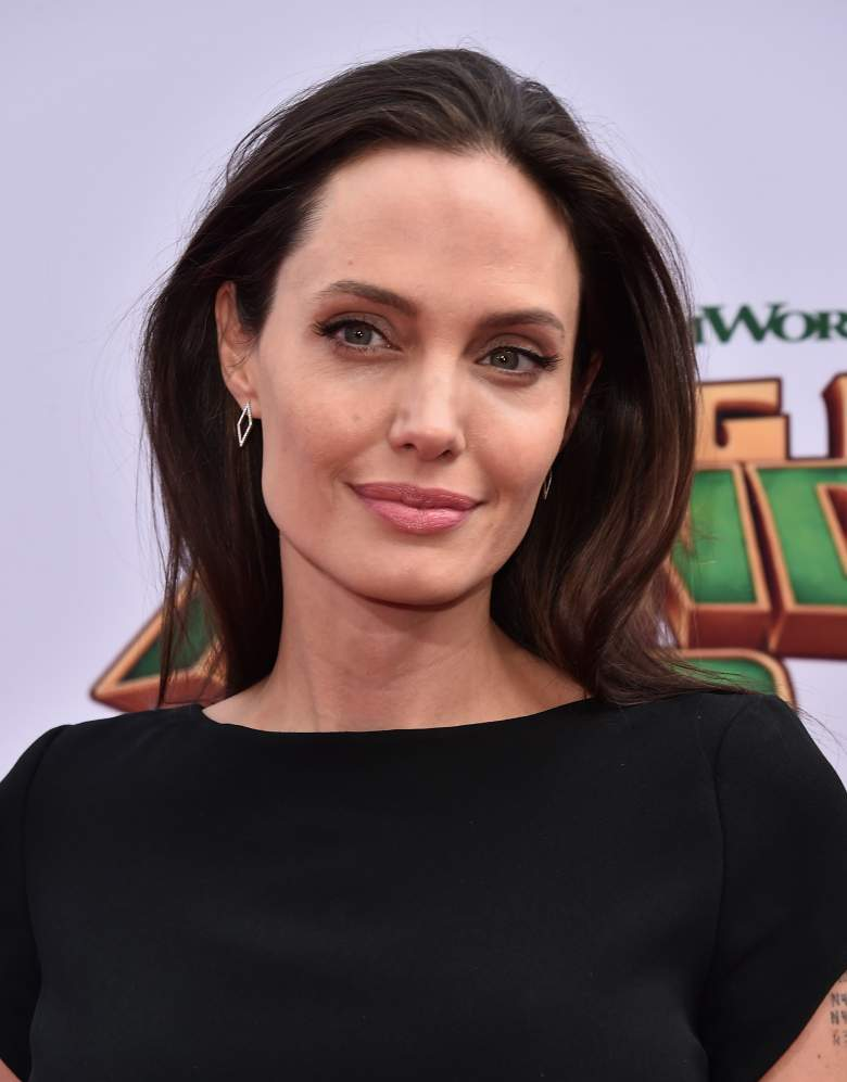 Angelina Jolie. (Getty Images)