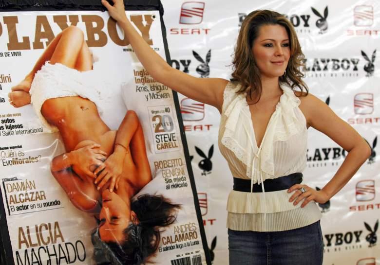 Alicia Machado Playboy, Alicia Machado