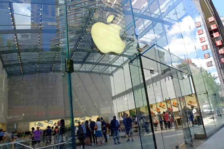 La tienda de Apple en el Upper West Side de Nueva York. (Getty)