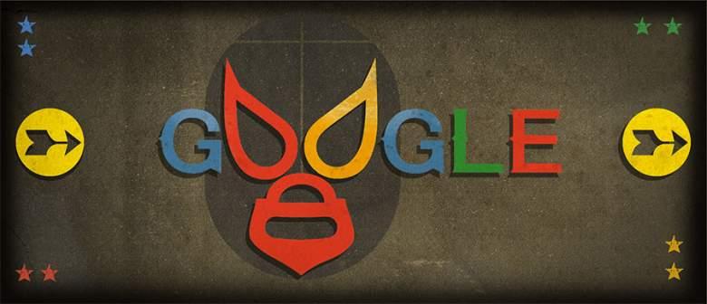 Google celebra el cumpleaños de El Santo. (Google Doodle)