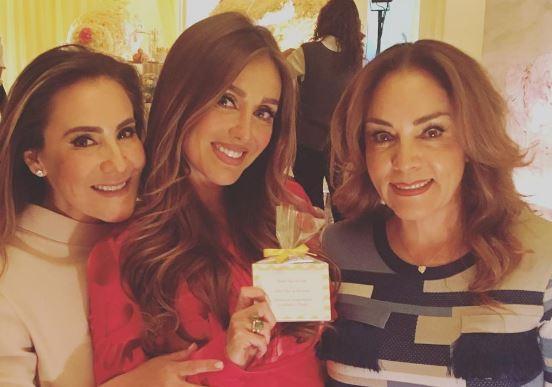 Anahí celebró su primer baby shower  (Foto Instagram)