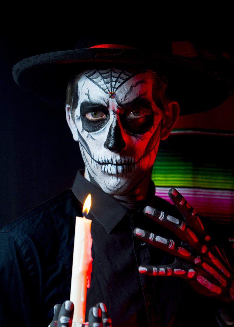 Halloween: Cómo maquillarse como Calabera en 5 pasos, Dia de Muertos,