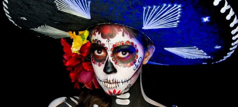 """Halloween: Maquíllate como """"Catrina"""" en 5 pasos [FOTOS]"""