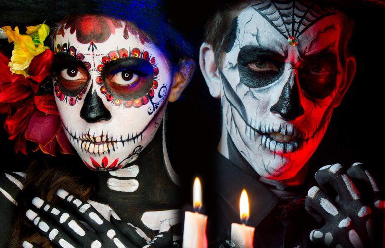 Halloween: Cómo maquillarse como Calavera en 5 pasos, Día de Muertos