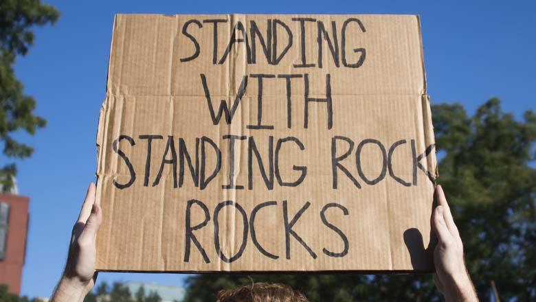 Standing Rock White House, Standing Rock Casa Blanca