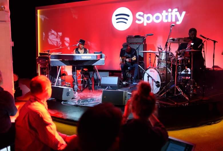 Muchos amantes de la música no pudieron usar sus cuentas de Spotify tras el ataque cibernético el viernes. (Getty)