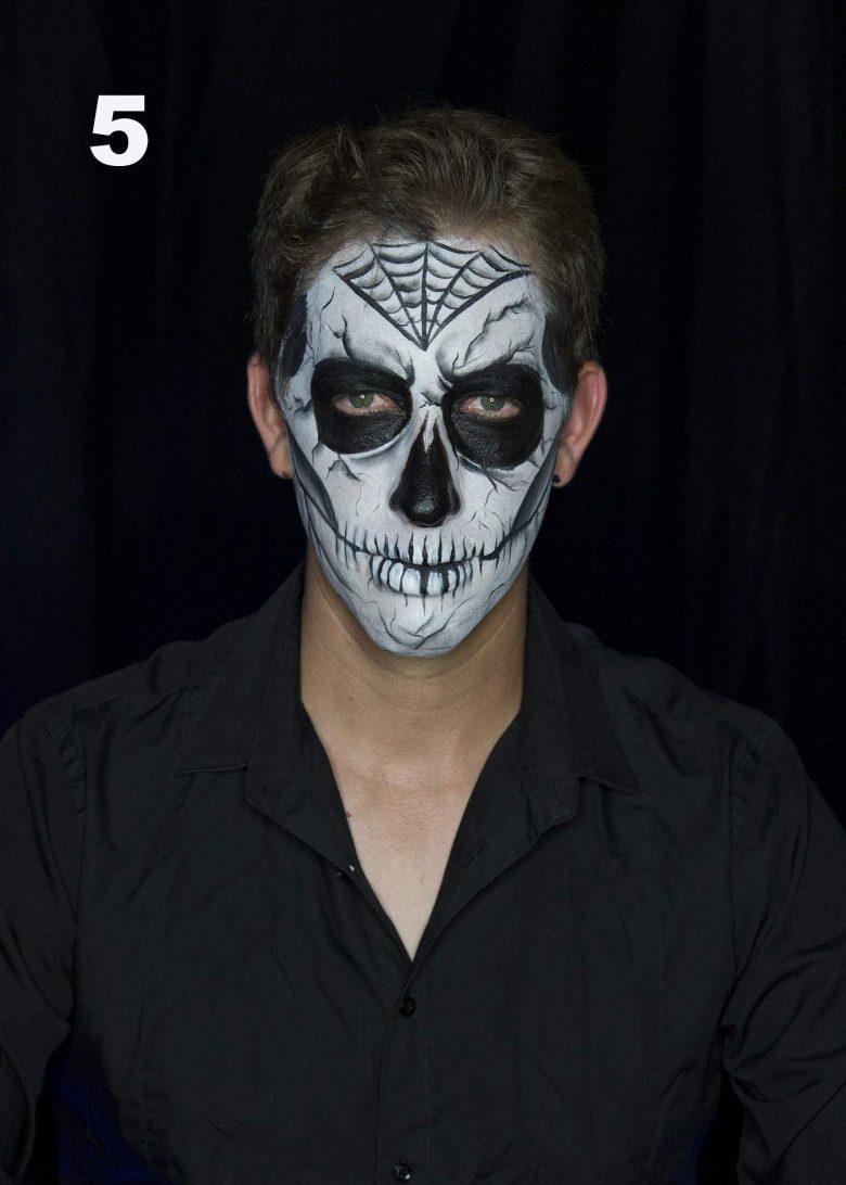 Halloween: Cómo maquillarse como Calabera en 5 pasos, Dia de Muertos