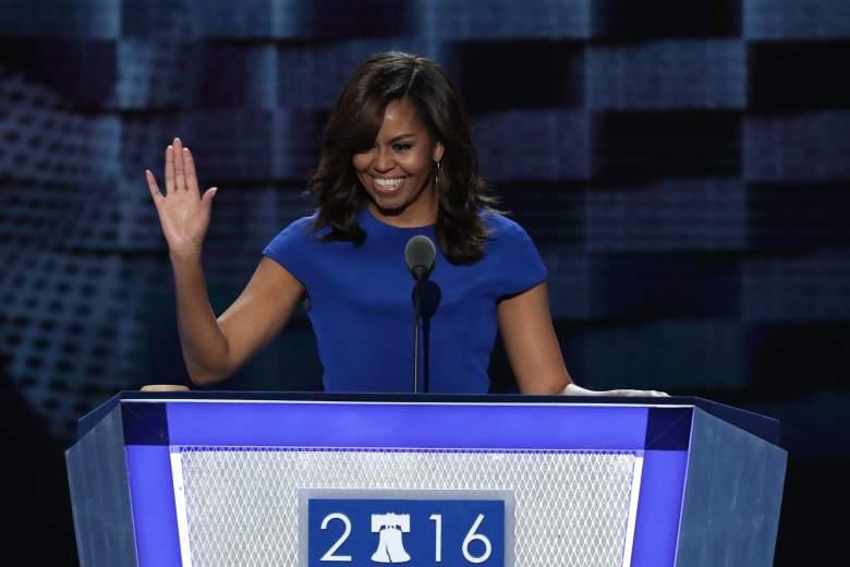 Michelle Obama pronuncia contundente discurso contra Donald Trump  (Foto Alex Wong/Getty Images)