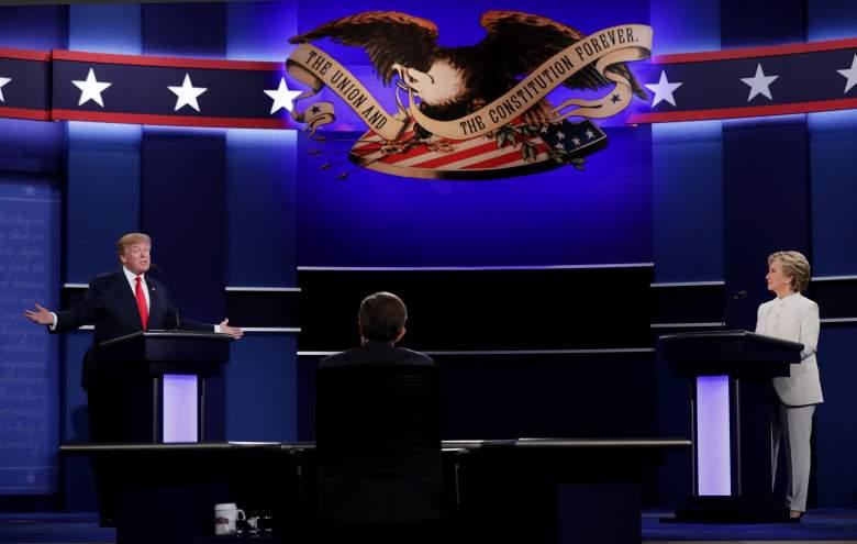 Hillary Clinton Debate Presidencial Donald Trump, Hillary Clinton, Donald Trump