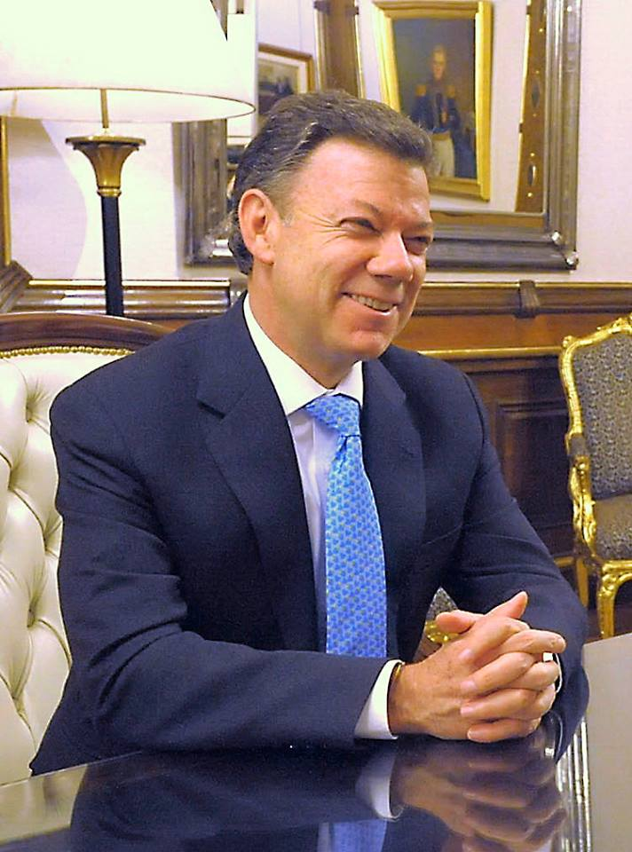 El Primer Mandatario de Colombia, Juan Manuel Santos ahora Nobel de la Paz (Facebook)