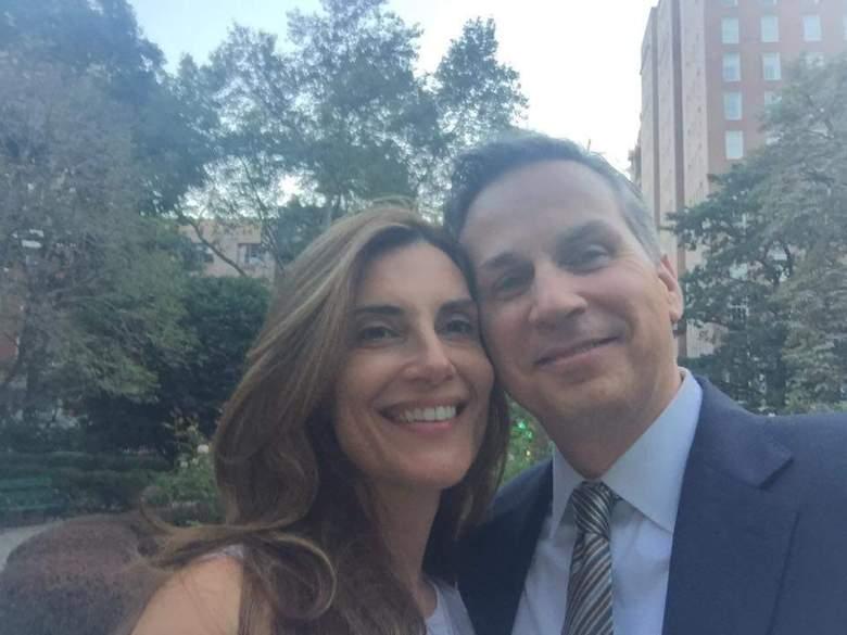 Karena Virginia y su esposo, el abogado Charles Virginia. (Facebook)