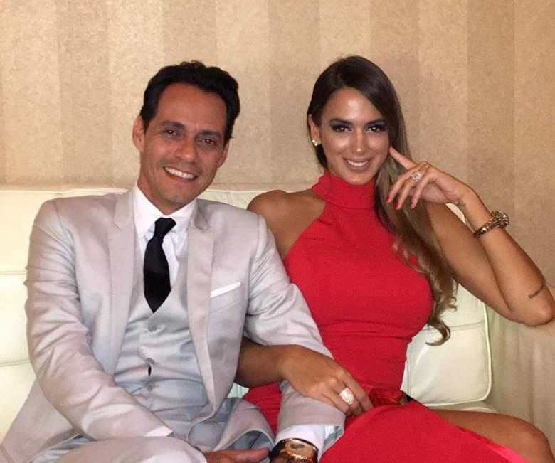 La guapa modelo venezolana cuando compartía su día a día con el cantante. (Instagram)