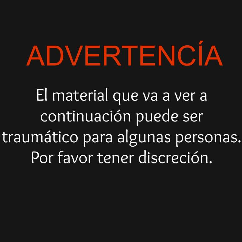 advertencia warning