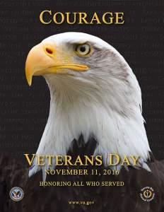 El poster que este año el Gobierno de los Estados Unidos dedicó para conmemorar El Día de los Veteranos. Crédito: (U.S. Department of Veterans Affairs.)
