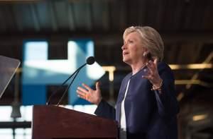 La aspirante a la presidencia de los Estados Unidos por el partido Demócrata , Hillary Clinton. (Twitter: @HillaryClinton).