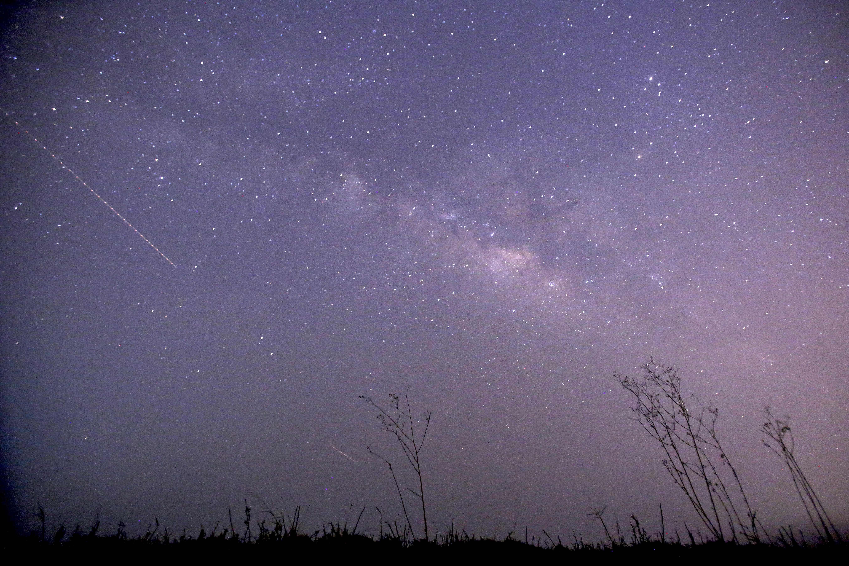 ¿Hay una lluvia de estrellas esta noche? (Getty)