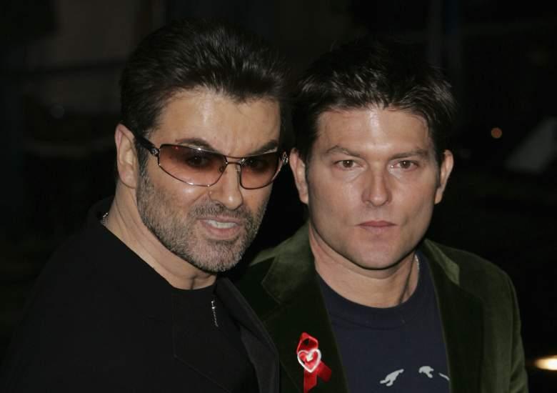George Michael y Kenny Goss. (Getty)