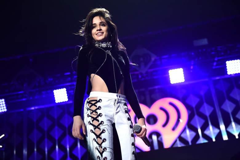 Camila Cabello en su última presentación con Fifth Harmony en el Power 96.1's Jingle Ball 2016 en el Philips Arena, 9 de diciembre. (Getty)
